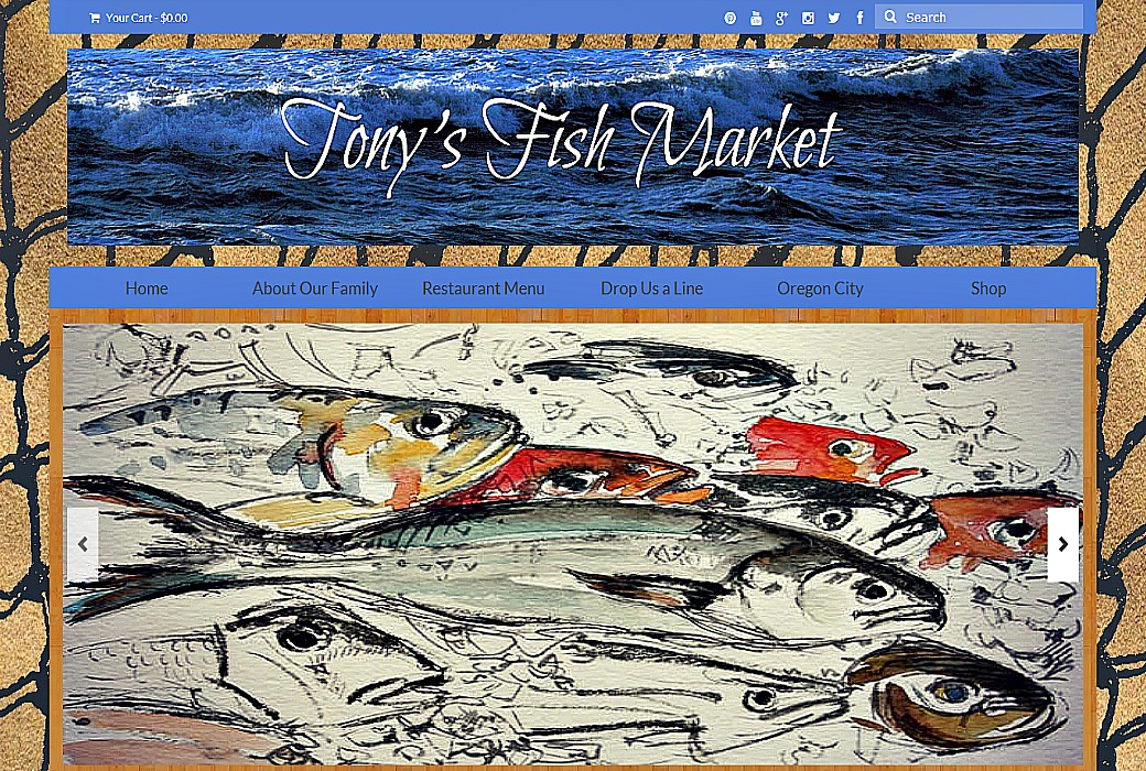 Tony 39 s fish market magic web gravy for Tonys fish market
